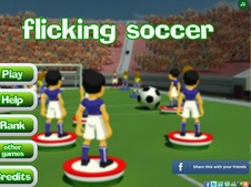 Flicking Soccer by FlashGamesFan.com