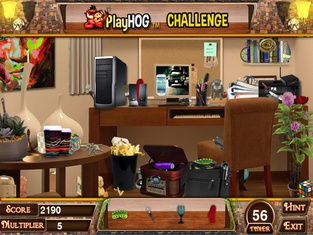 Around the House Hidden Object