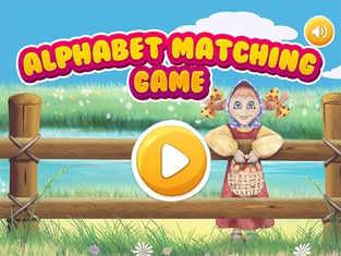 Alphabet matching game - learning for kids