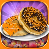 Halloween Donut Maker Dessert Food Cooking Game