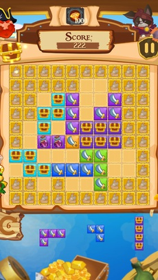 Block Puzzle for 1010 tiles: pirates of tortuga