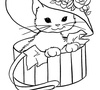 Feline Romance Coloring Game