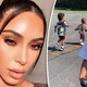 Kim Kardashian's children and niece True crash her workout session: 'It turned into a kids camp'