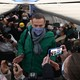 Putin critic Alexei Navalny detained upon return to Russia after poisoning, spokesperson says
