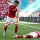 Denmark's Christian Eriksen collapsed on the field against Finland.